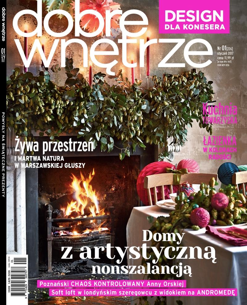 Dobre Wnetrze 01.2017 / cover
