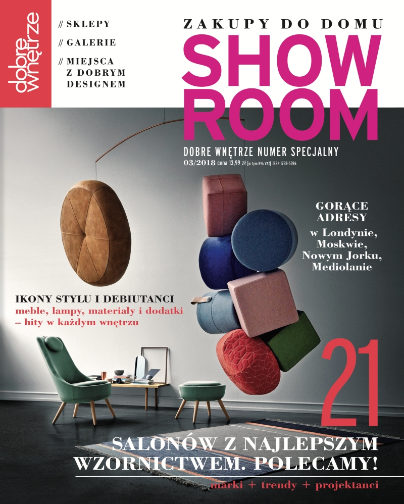 Dobre Wnetrze Showroom 03.2018 / page cover