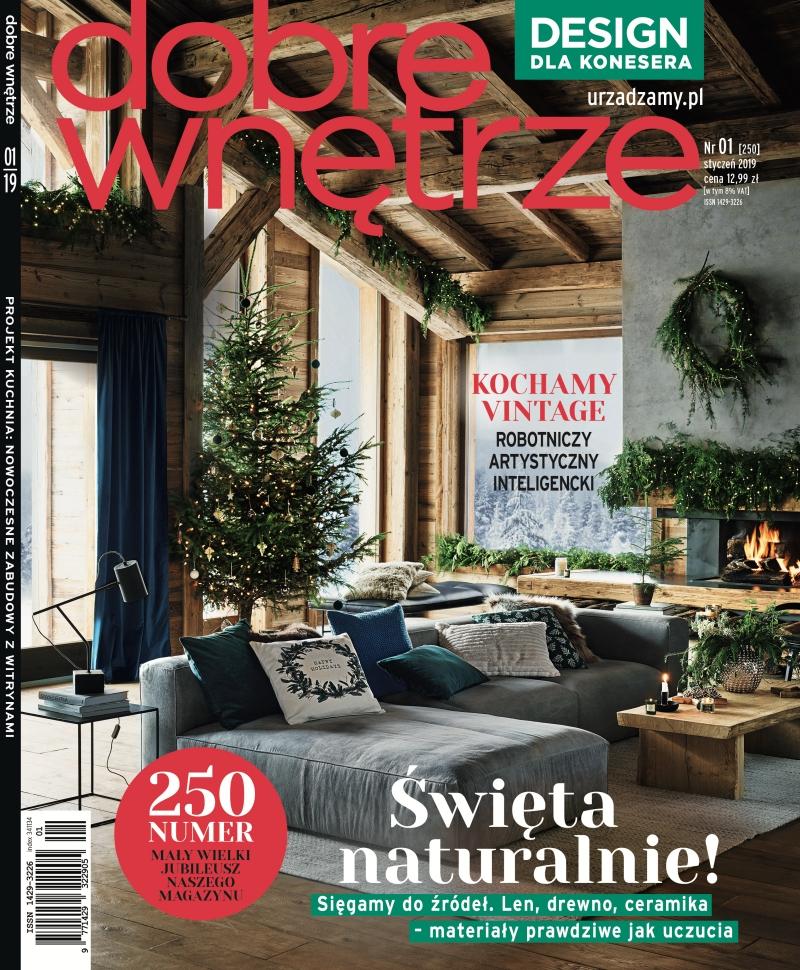 Dobre Wnetrze 01.2019 / cover page