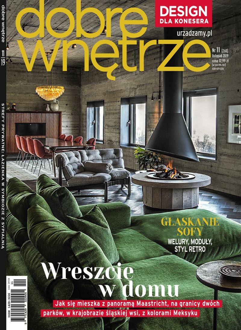 Dobre Wnetrze 11.2019 / cover