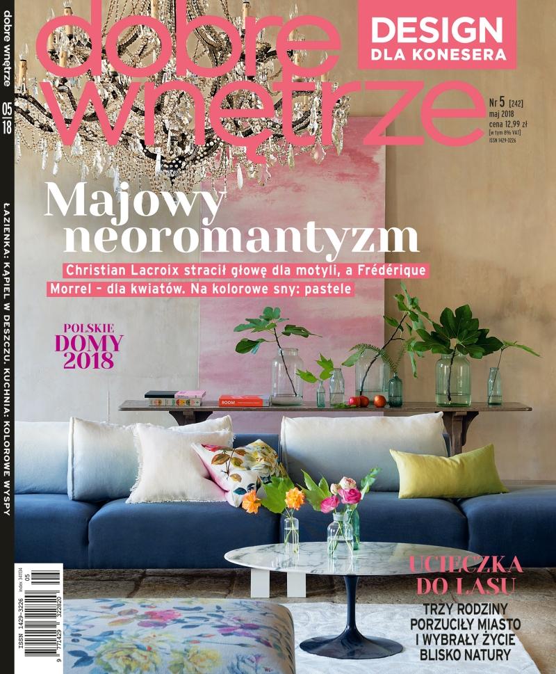 Dobre Wnetrze 05.2018 / cover