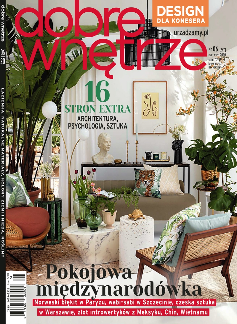 Dobre Wnetrze 06.2020 / cover