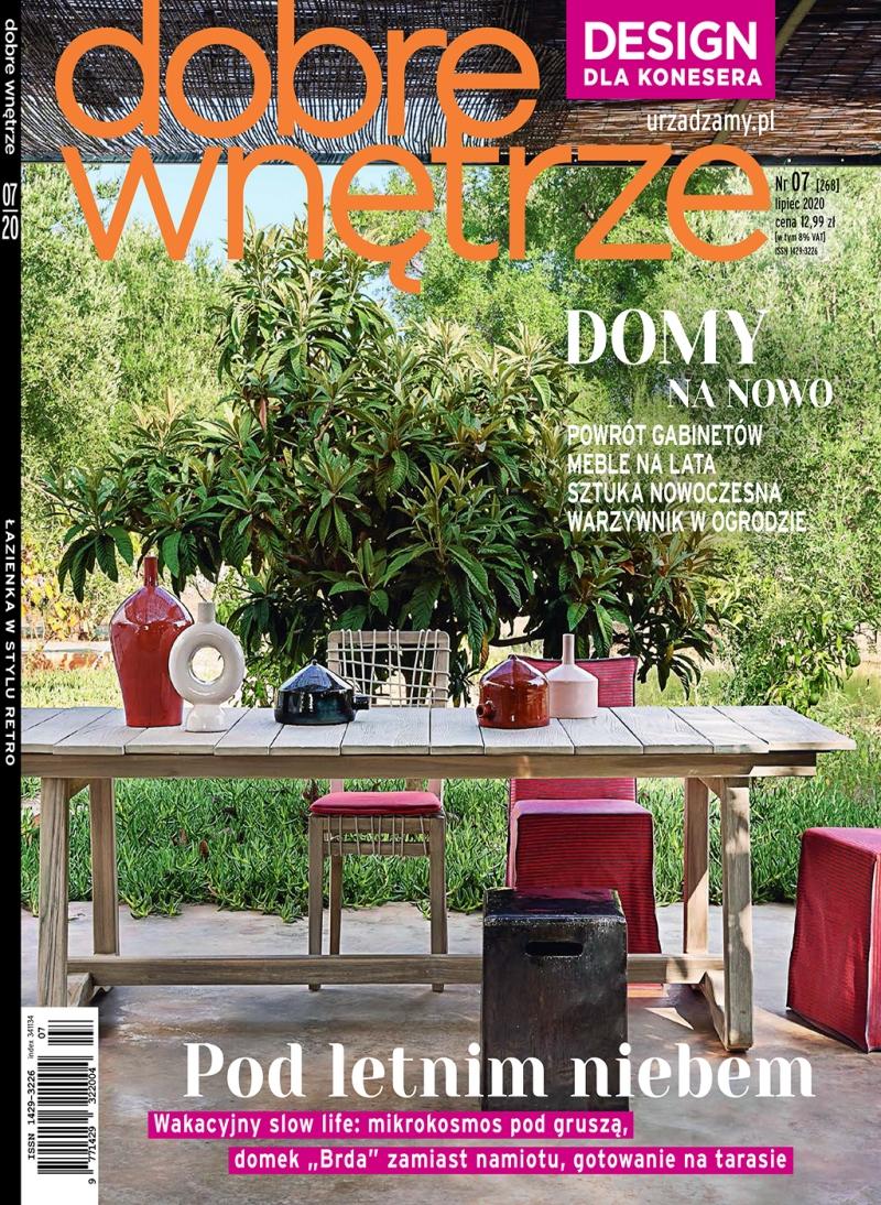 Dobre Wnetrze 07.2020 / cover