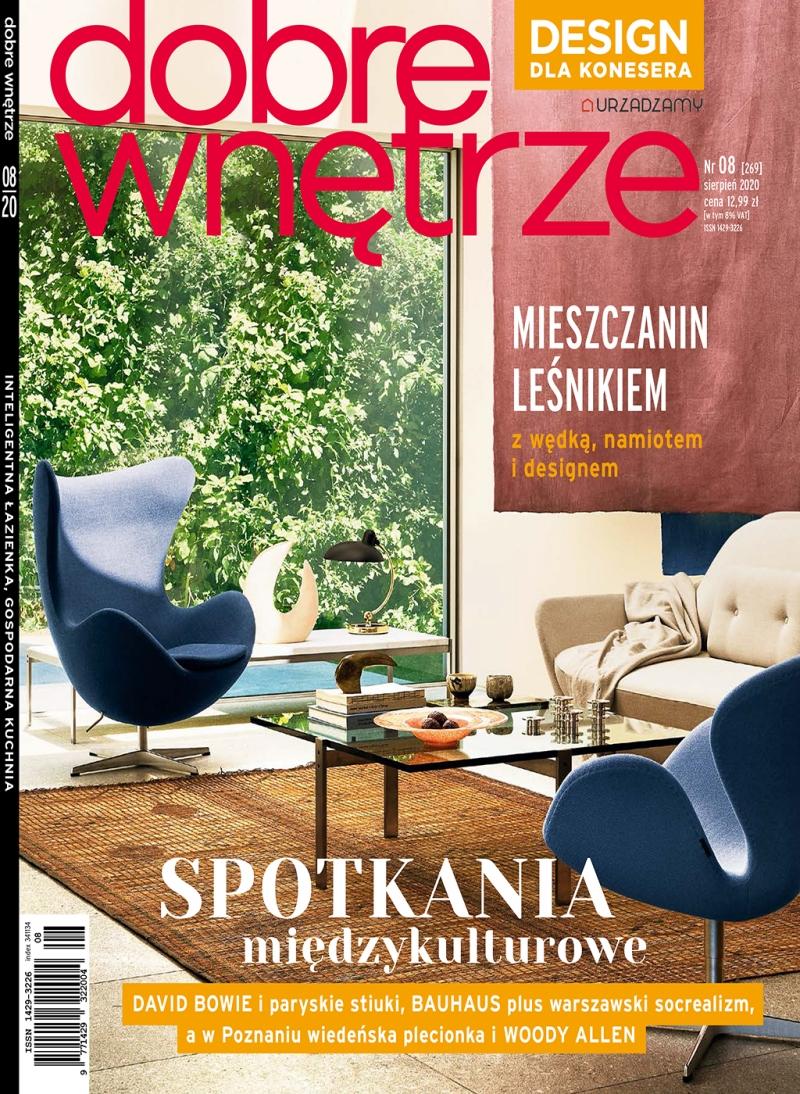 Dobre Wnetrze 08.2020 / cover