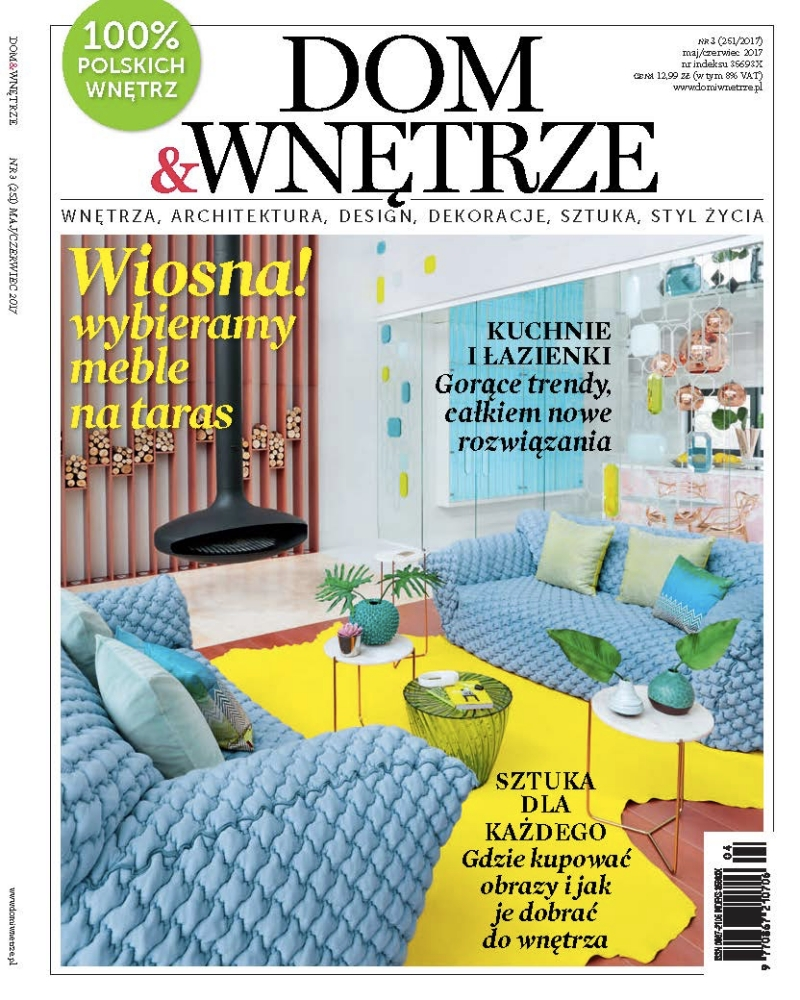 Dom&Wnetrze 05-06.2017 / cover