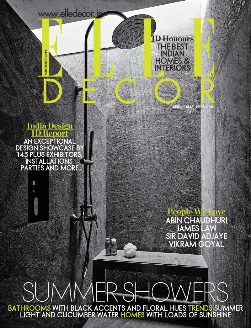 Elle Decor India 04-05.2019 / cover