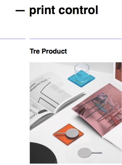 online - print control