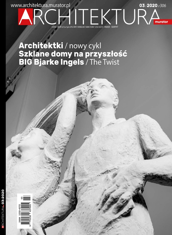 Architektura Murator 03.2020 / page cover