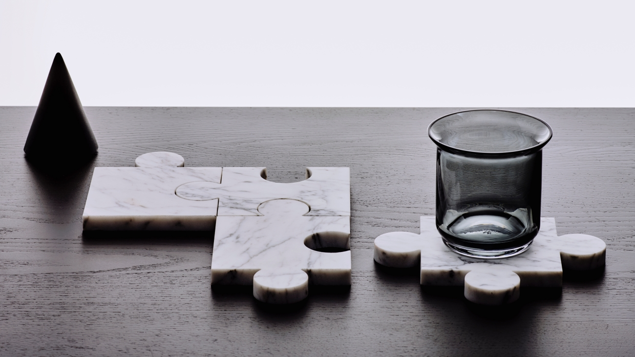 Spacer 2 / Stonecut Puzzle Coasters