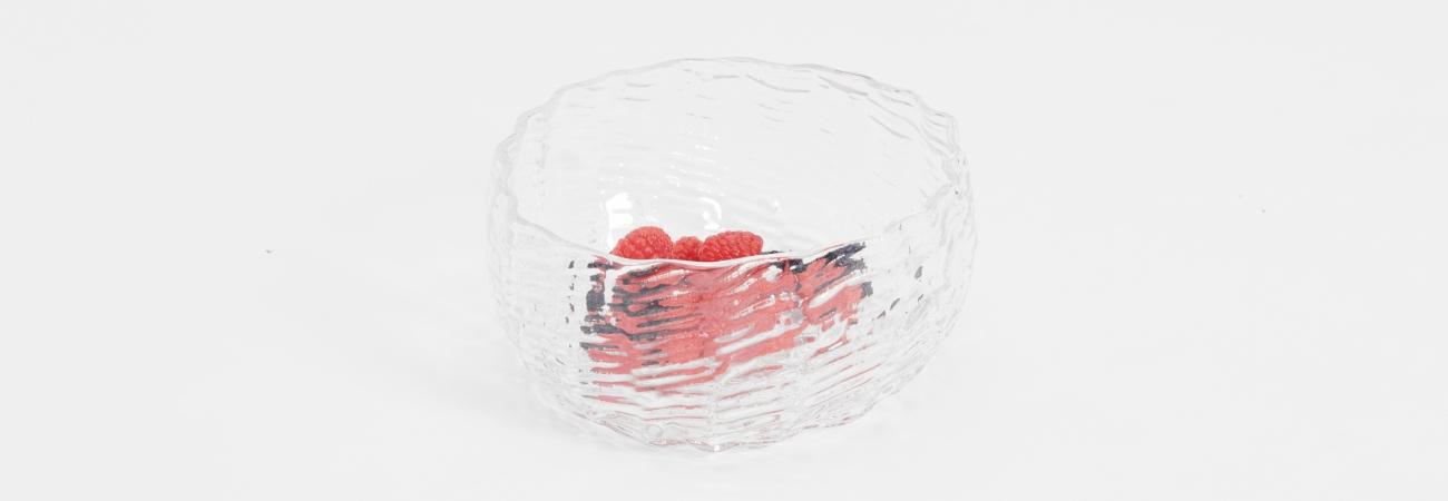 Wicker Glass Bowl / hero