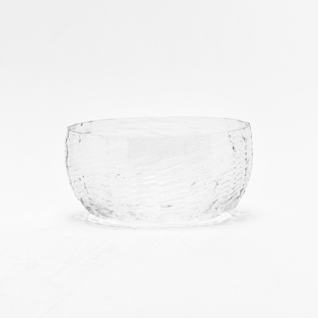 Wicker Glass Bowl / list image